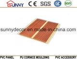 Панели стены PVC деревянной пластичной конструкции потолка нутряные декоративные, Cielo Raso De PVC