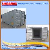 Container de transporte de 20 pés de piso de aço