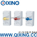 세륨 Certification (QXF-120)를 가진 IP66 Waterproof Isolating Switch