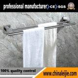 Aço inoxidável sanitárias toalha Duplo Bar Fornecedor