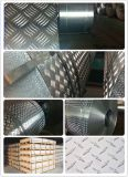 Pattern antisdrucciolo Aluminum/Aluminium Tread Sheet/Plate/Coil per Decoration/Bus/Truck