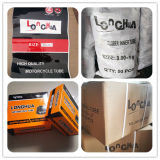 Butil tubo interno do motociclo de Borracha Natural com a norma ISO9001 (3.00-18)