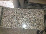 De groothandel poetste de Zwarte/Witte/Bruine/Gouden/Rode/Gele/Grijze Tegel van het Graniet voor Trede/Countertop op