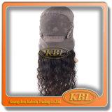 As meias perucas indianas do laço são muito populares nos muitos país