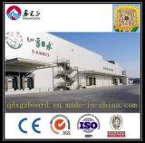 Taller inferior chino del marco de acero de la capa y de la alta calidad o almacén de la estructura de acero