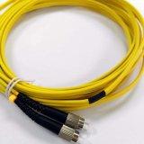 Modo de fibra óptica del duplex G. 657 de la cuerda de corrección de la fibra de FC solo
