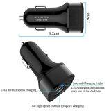 De Lader van het streepje met Dubbele Slimme Havens USB voor Mobiel Apparaat