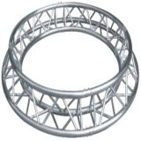 옥외 알루미늄 반 점화 지붕 단계 연주회 전람 당 LED 스크린 원형 Truss