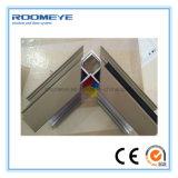 Roomeye passte Puder beschichtetes Aluminiumflügelfenster-Fenster mit der Doppelverglasung an