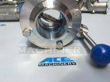 Válvula de borboleta sanitária do aço inoxidável de Ss304 Ss316L (ACE-DF-GL)
