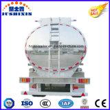 3 반 차축 52cbm 알루미늄 원유 또는 휘발유 또는 가솔린 또는 연료 실용적인 유조 트럭 트레일러