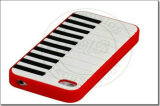 Конструкция с пианино мягкие резиновые гель силиконовый чехол для iPhone 5 (КЕ5-020)