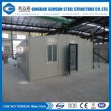 Villa prefabbricata di uso d'acciaio dell'ufficio del calibro dell'indicatore luminoso del rifornimento della Cina