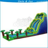 Resbalador inflable del parque de atracciones del juego del agua