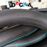 Pneumático de borracha firme da câmara de ar e nenhum entalhado comum da câmara de ar interna da motocicleta (3.00-18)