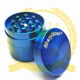 Haut de la qualité Sharpstone de zinc métal Herb Broyeurs pour tuyaux à eau en verre, alliage haute la vente de Zin Herb broyeurs