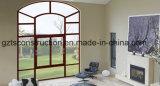 이중 유리를 끼우는 주문을 받아서 만들어진 알루미늄 여닫이 창 Windows