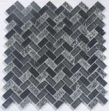 背景の壁のための2017本の縞のガラスモザイク