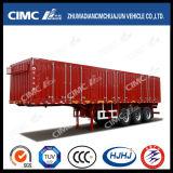 Cimc Huajun 3axle padrão Van/caixa queCarreg Semi o reboque