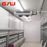 Fabricante hace un cuarto frío para el almacenamiento en frío de la carne