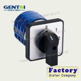 32A 1-0-2 3P 3 de la fabricación de interruptor giratorio de la posición de interruptor de cambio