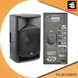 15 дюймов 350W цифров AMP Bluetooth EQ для диктора PS-2615depd PA Active iPod пластичного