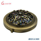 Зеркало состава бронзы формы цветка с Tassel