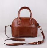 Sacchetto dell'imbracatura del cuoio della pelle bovina di modo, borse rosse impermeabili, sacchetto di Tote