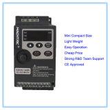 Goedkope 220V 0.75kw transistoriseerde Omschakelaar van de Frequentie van de Aandrijving VFD de Lage AC