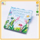 Impression élevée de livre de panneau d'enfants de Qaulity (OEM-GL007)