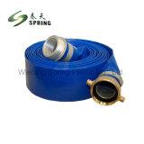 PVC descarga de água industrial e agrícola de borracha Layflat