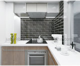 2018 cocina caliente interiores de diseño de la pared Cerámica Baldosa mosaico de borde biselado100x300mm