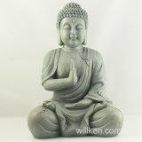 Statue bon marché de Bouddha de résine de décoration à la maison