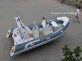5.2M Liya costela inflável de casco de fibra de barco de pesca