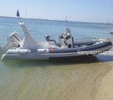 Liya 6.2meter Geschwindigkeits-Boots-Fiberglas-Rippen-Boot Hypalon Cer genehmigt
