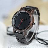 Reloj de madera del reloj de la manera