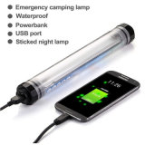 La lumière campante IP68 de DEL imperméabilisent le clip extérieur abouti des lumières 2magnet de Portable de lampe de travail de Powerbank 42 de la batterie 5200mAh rechargeable