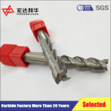 Molino de extremo duro del acabamiento del CNC de la aleación con ranurar de 4 flautas