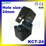 24mm Loch Schelle-auf Typen verwundeter Typ aufgeteilter Kern-aktueller Transformator 100A/40mA 200A/40mA 200A/66.7mA 400A/80mA 400A/333mv der Kategorien-0.5