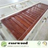 Peint en couleur bois coulissante de porte de l'obturateur obturateur de plantation pour la maison