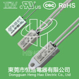 Биметаллический термально переключатель для портативного електричюеского инструмента