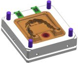 Алюминиевая прессформа заливки формы приспособленная на 800t Dcm-W