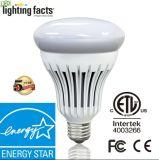 Conçu en matière de brevets Energy Star réglable R30/Br30 Ampoule de LED