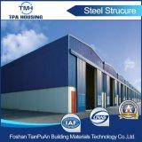 Быстрое здание стальной структуры установки Q235 Q345b полуфабрикат светлое