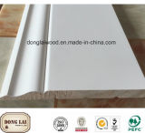 Kundenspezifischer Rand geklebte hölzerne Wand-Täfelung