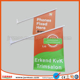 Прочного 440GSM ПВХ пользовательских печатных флаг на стене