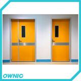 Venta caliente de la puerta oscilación manual (una hora y media HOJA)