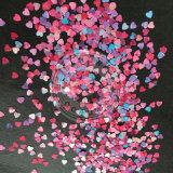 Flocos acrílicos do projeto da arte do prego dos Sequins da forma do Glitter
