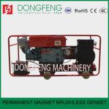 Постоянный магнит с переменной частотой вращения бесщеточный генератор установлен на 15 квт