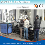 Линия штрангя-прессовани трубы из волнистого листового металла стены HDPE/PVC двойная/2 слоя делая машину